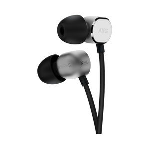 N20U - Silver - Reference class in-ear headphones with universal 3 button remote. - Hero